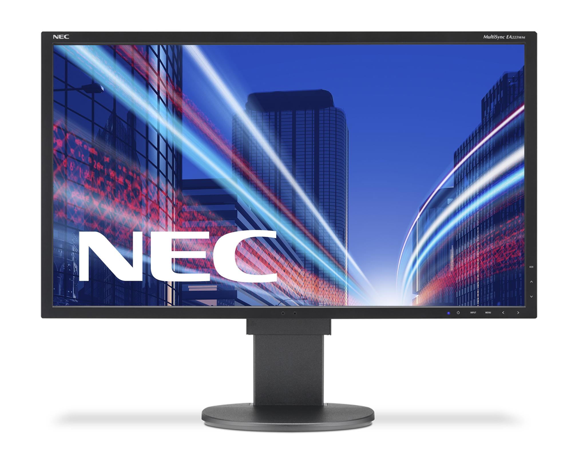 Монитор NEC EA223WM Black-2