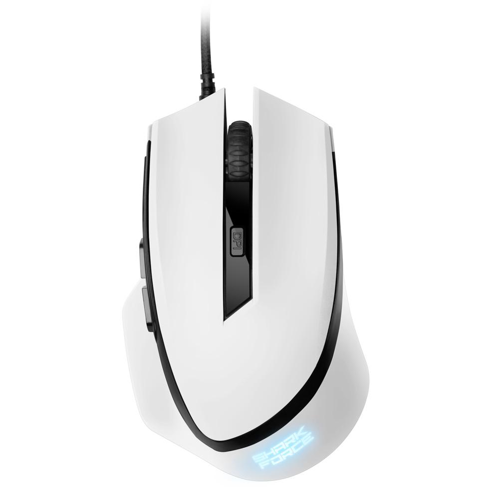 Геймърска мишка Sharkoon SHARK Force White