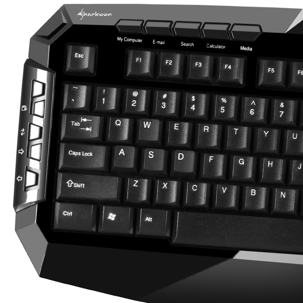 Геймърска клавиатура Sharkoon Skiller-3