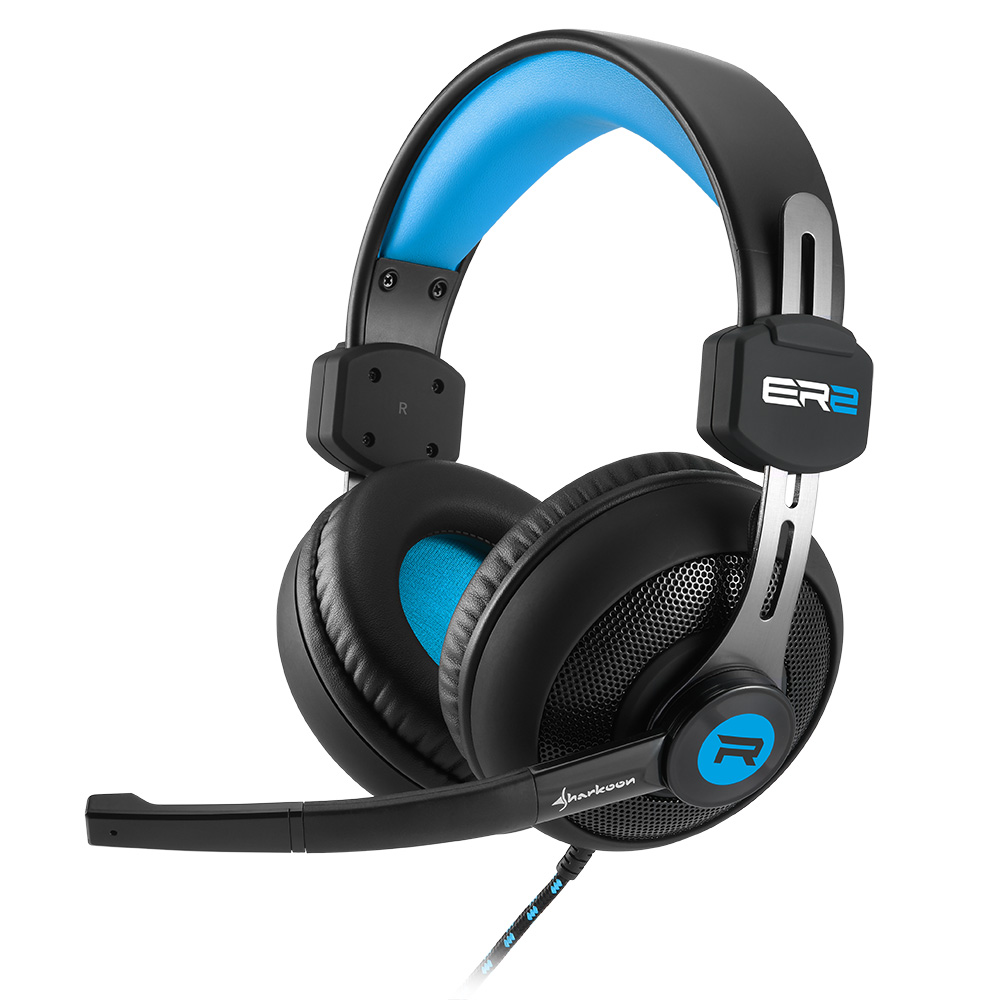 Геймърски слушалки Sharkoon RUSH ER2 Blue
