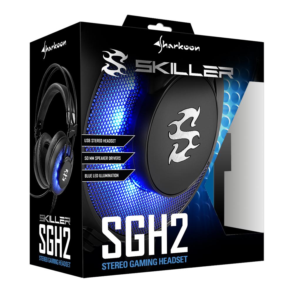 Геймърски слушалки Sharkoon Skiller SGH2-4