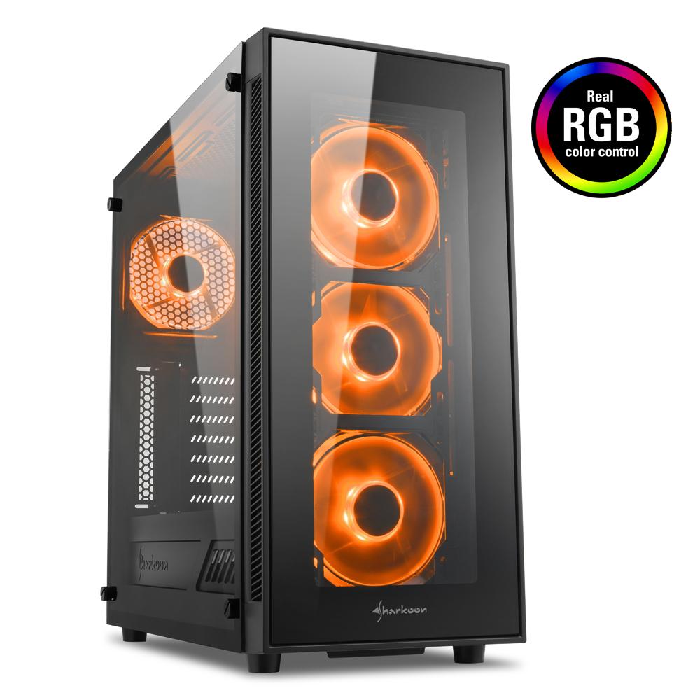 Геймърска кутия Sharkoon TG5 RGB