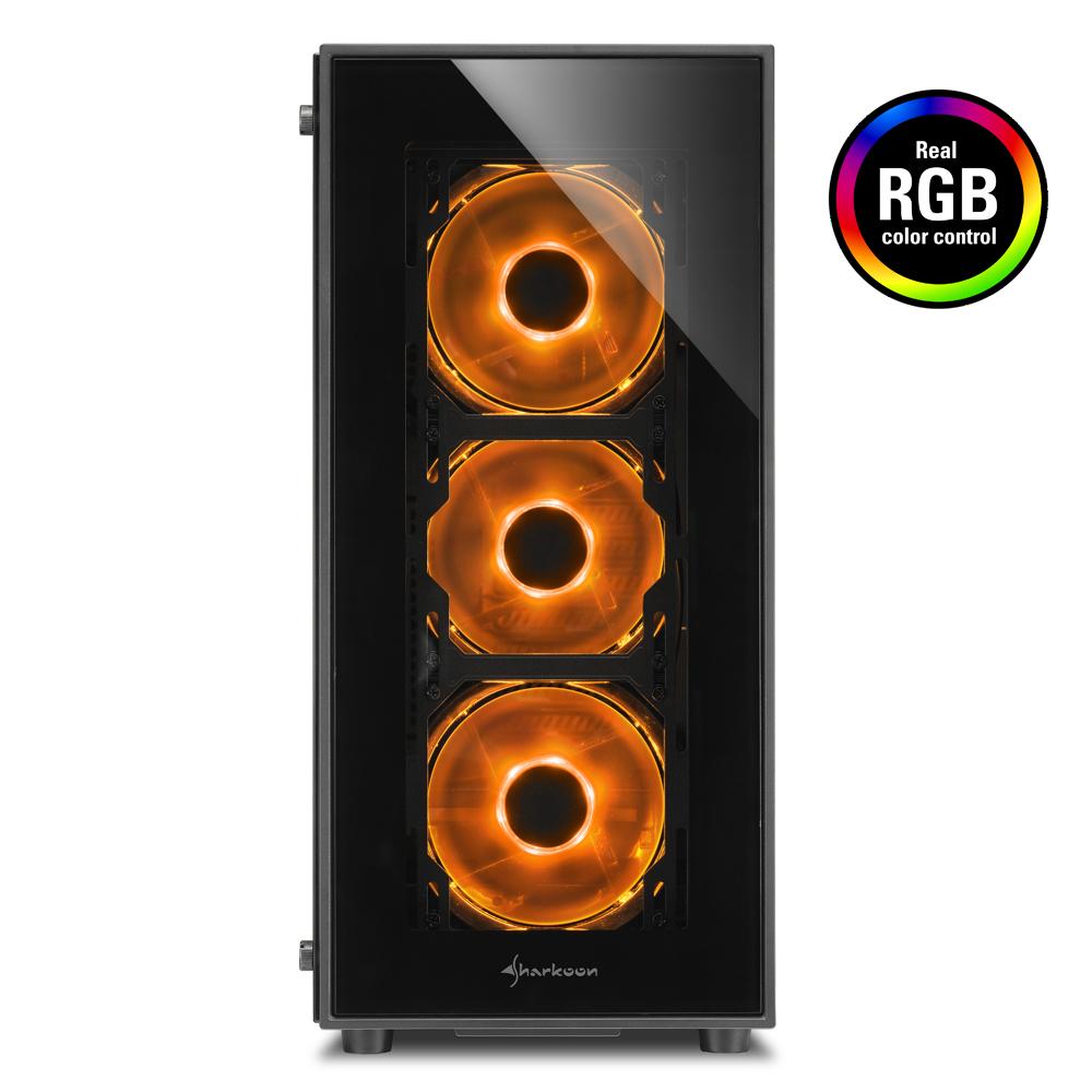 Геймърска кутия Sharkoon TG5 RGB-2