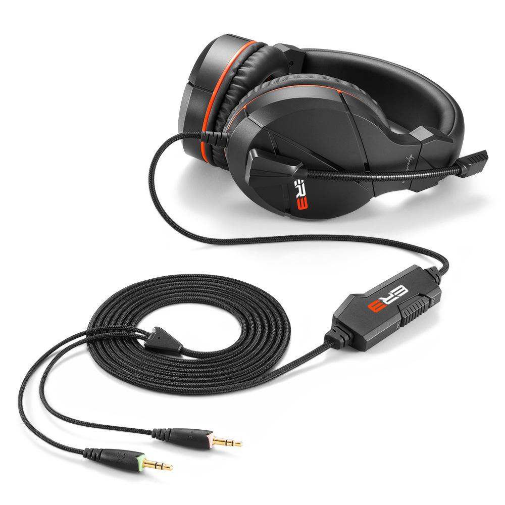 Геймърски слушалки Sharkoon RUSH ER3-2