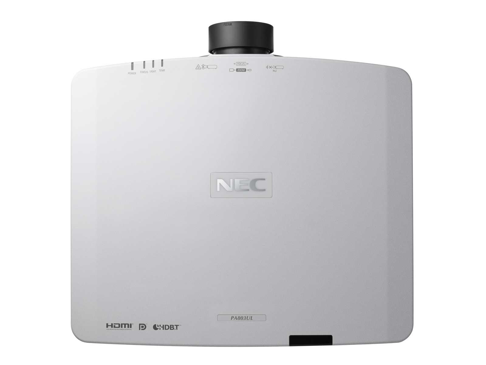 Проектор NEC 40001150 PA803UL+NP41ZL-3