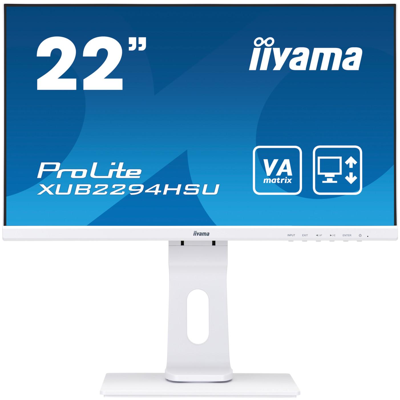Монитор IIYAMA XUB2294HSU-W1