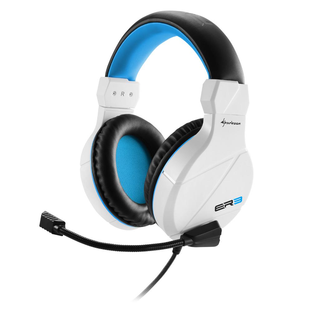 Геймърски слушалки Sharkoon RUSH ER3 White