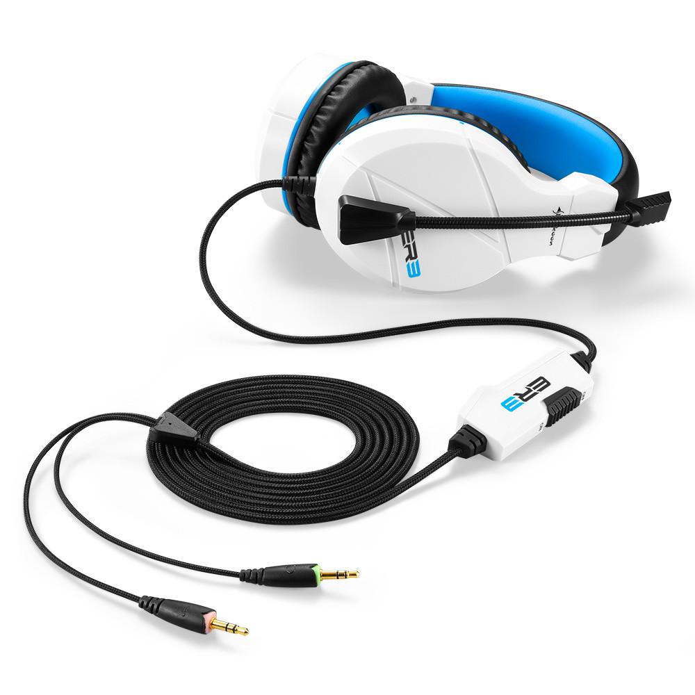 Геймърски слушалки Sharkoon RUSH ER3 White-2