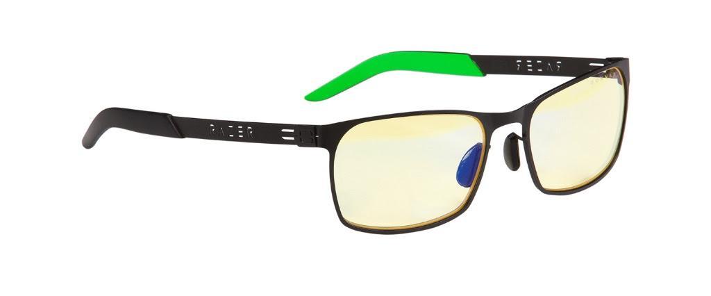 Геймърски очила GUNNAR Razer FPS, Amber, Зелен/Черен