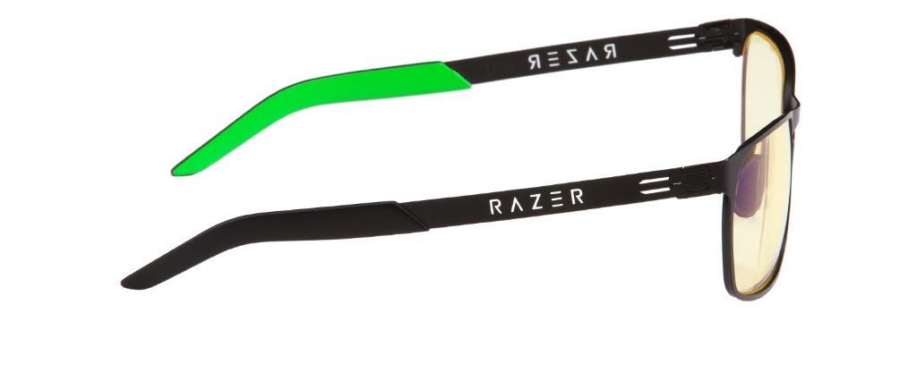 Геймърски очила GUNNAR Razer FPS, Amber, Зелен/Черен-2