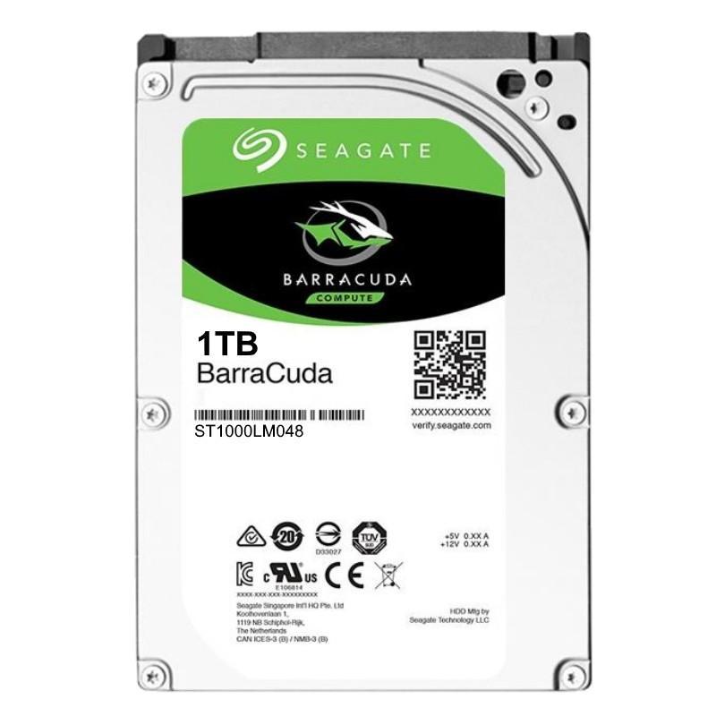 Хард диск за лаптоп SEAGATE, 1 TB, 128MB, SATA3, ST1000LM048