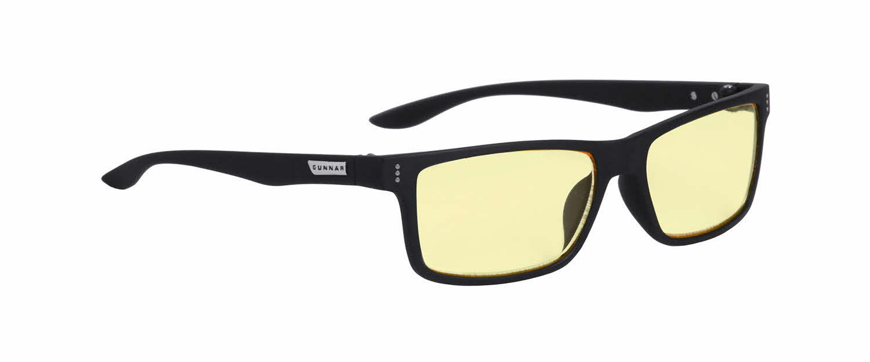 Геймърски очила GUNNAR Vertex Onyx, Amber, Черен