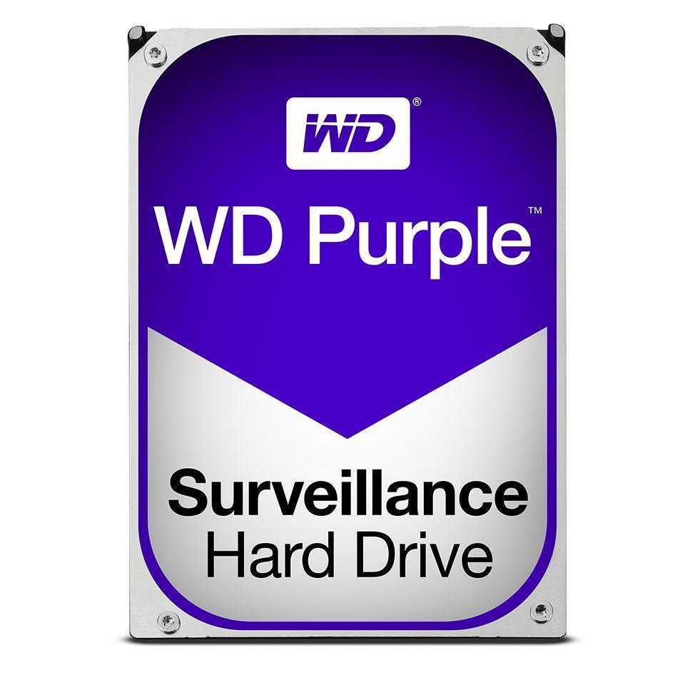 Хард диск WD Purple WD10PURZ, 1TB, 5400rpm, 64MB, SATA 3