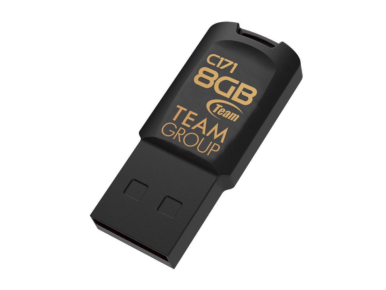 USB памет Team Group C171, 8GB, USB 2.0, Черен-2