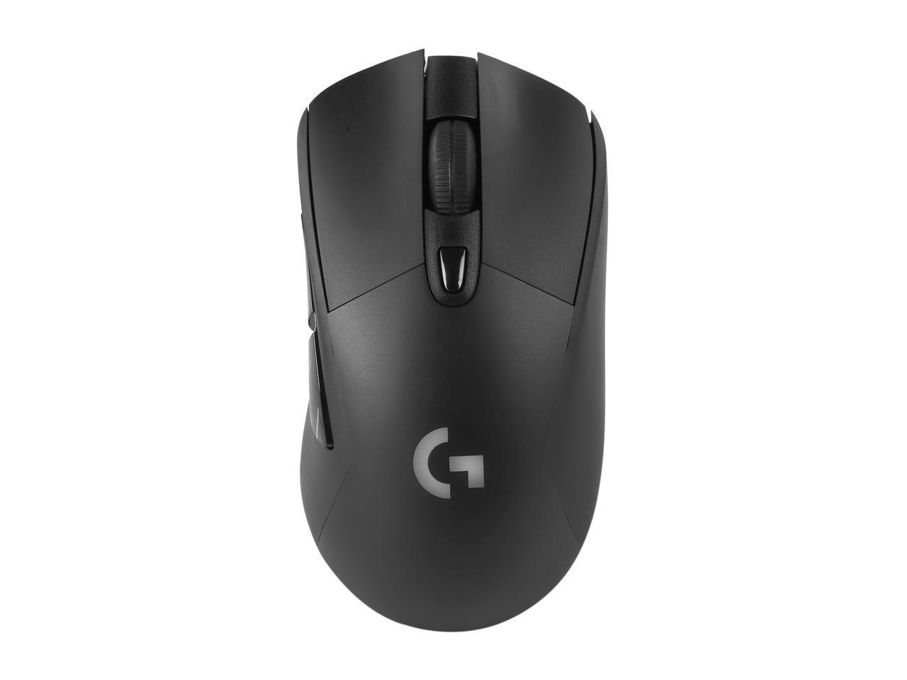 Геймърска мишка Logitech, G703, Оптична, Безжична, USB