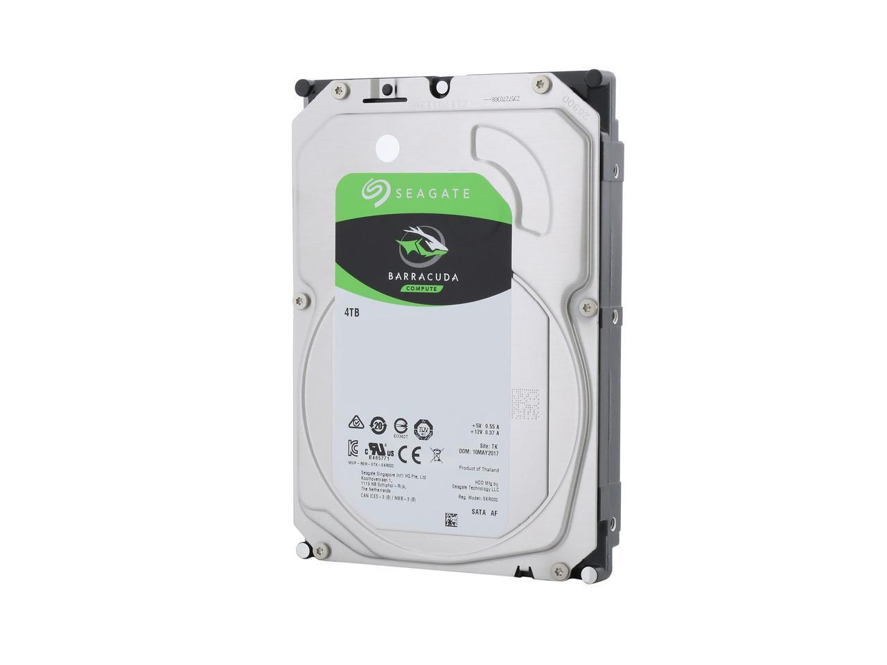 Хард диск SEAGATE BarraCuda, 4TB, 256MB, SATA 6.0Gb/s, ST4000DM004