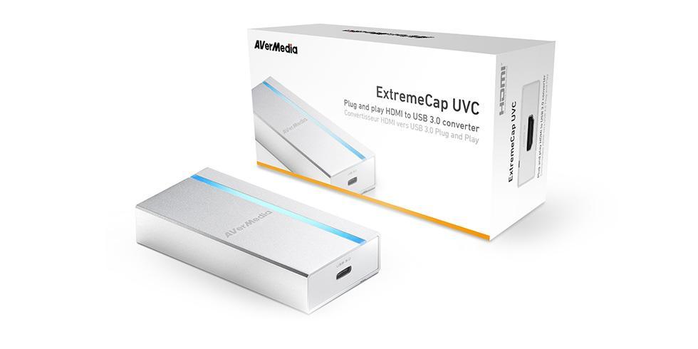 Конвертор AverMedia ExtremeCap UVC, HDMI към USB3.0, Бял-3