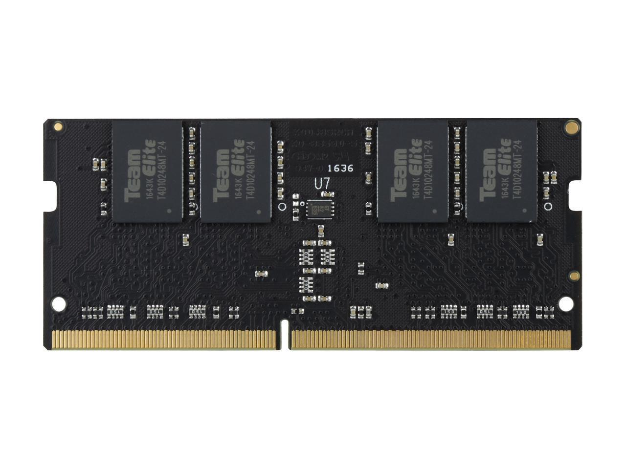 Памет Team Group Elite DDR4 SO-DIMM -  8GB 2400MHz CL16-16-16-39 1.2V