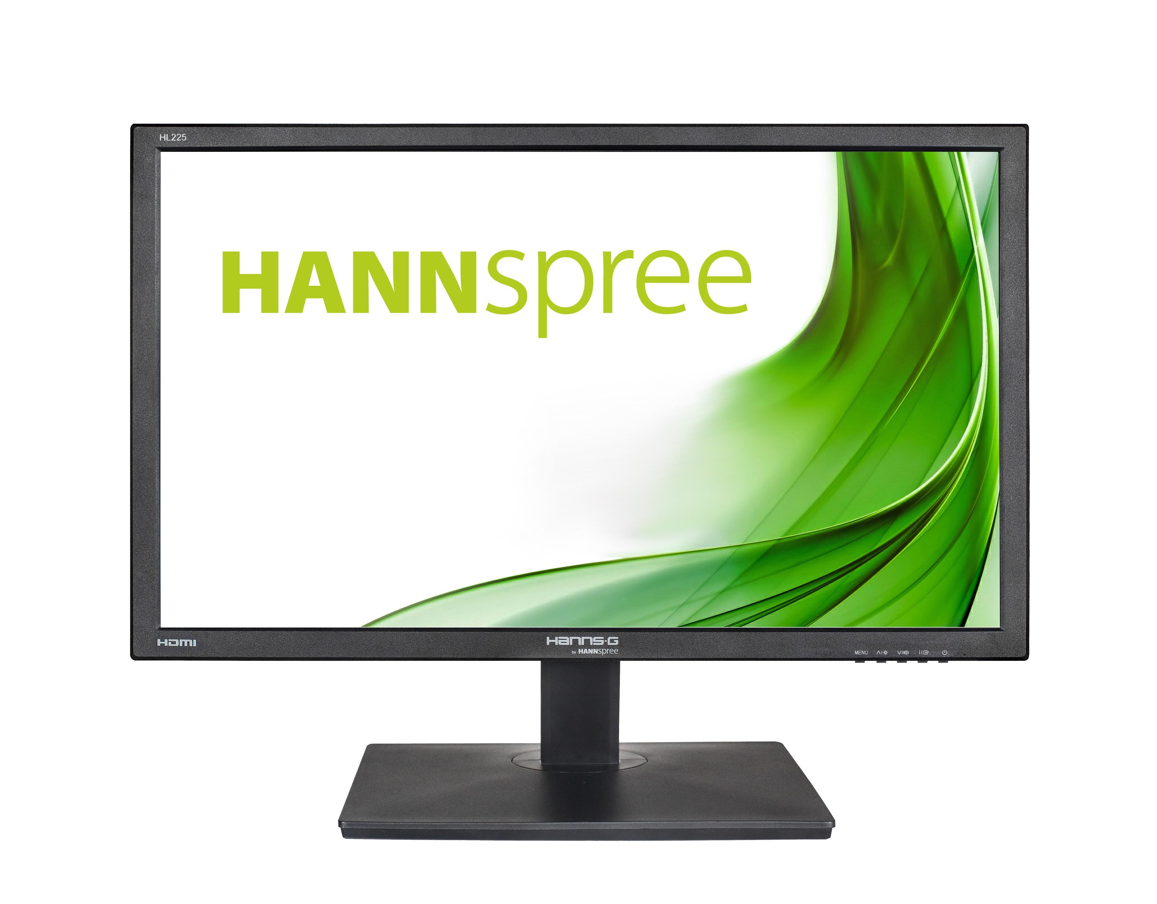Монитор HANNSPREE HL225HPB, LED, 21.5 inch, Wide, Full HD, D-Sub,HDMI, Черен-2