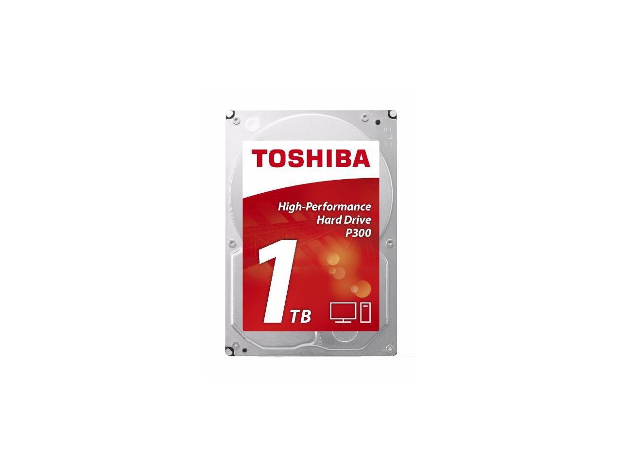 Хард диск TOSHIBA P300, 1TB, 7200rpm, 64MB, SATA 3