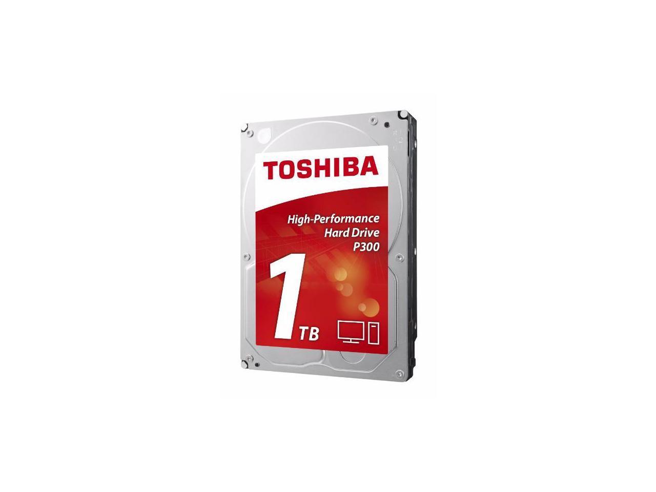 Хард диск TOSHIBA P300, 1TB, 7200rpm, 64MB, SATA 3-2