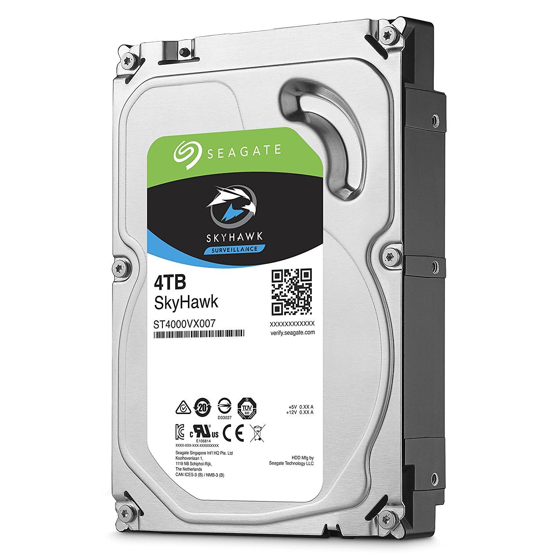 Хард диск SEAGATE SkyHawk ST4000VX007, 4TB, 64MB Cache, SATA 6.0Gb/s