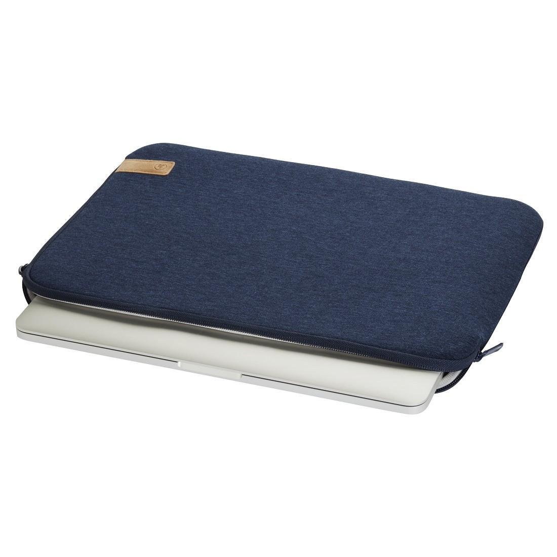 "Универсален калъф за лаптоп HAMA Jersey, до 34 см  (13.3""), Син-2"