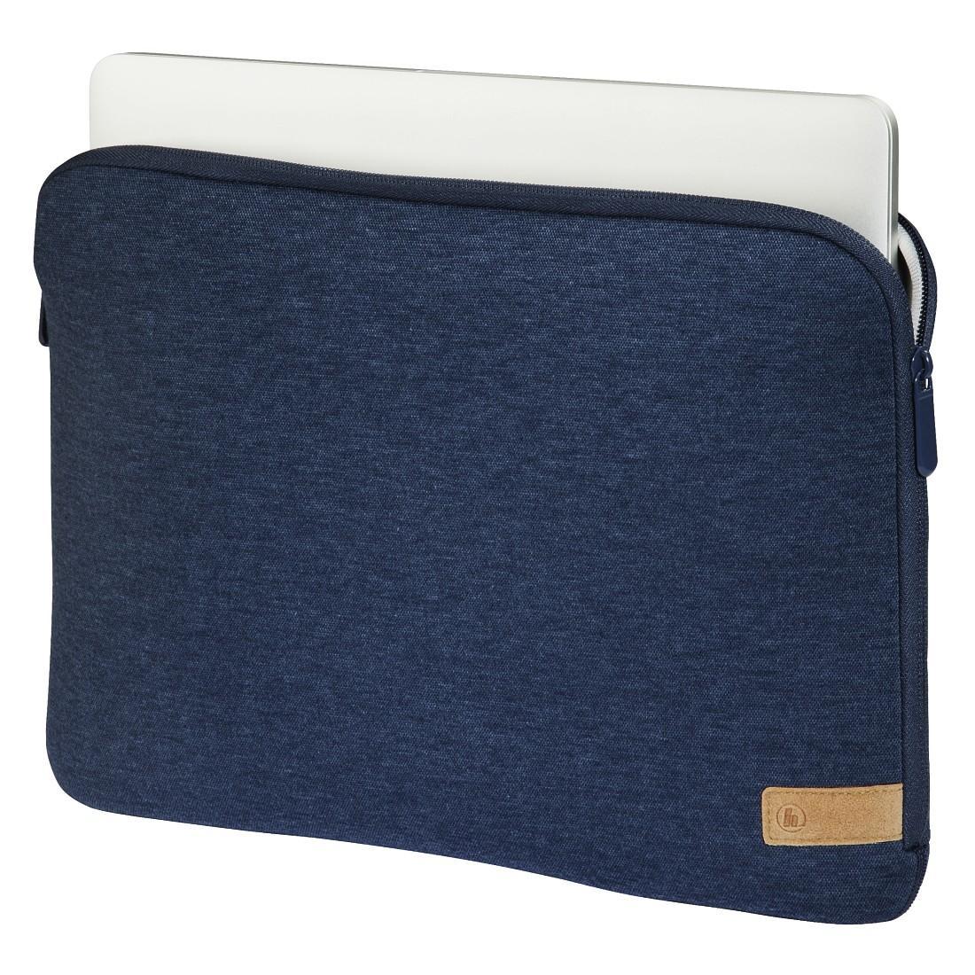 "Универсален калъф за лаптоп HAMA Jersey, до 34 см  (13.3""), Син-3"
