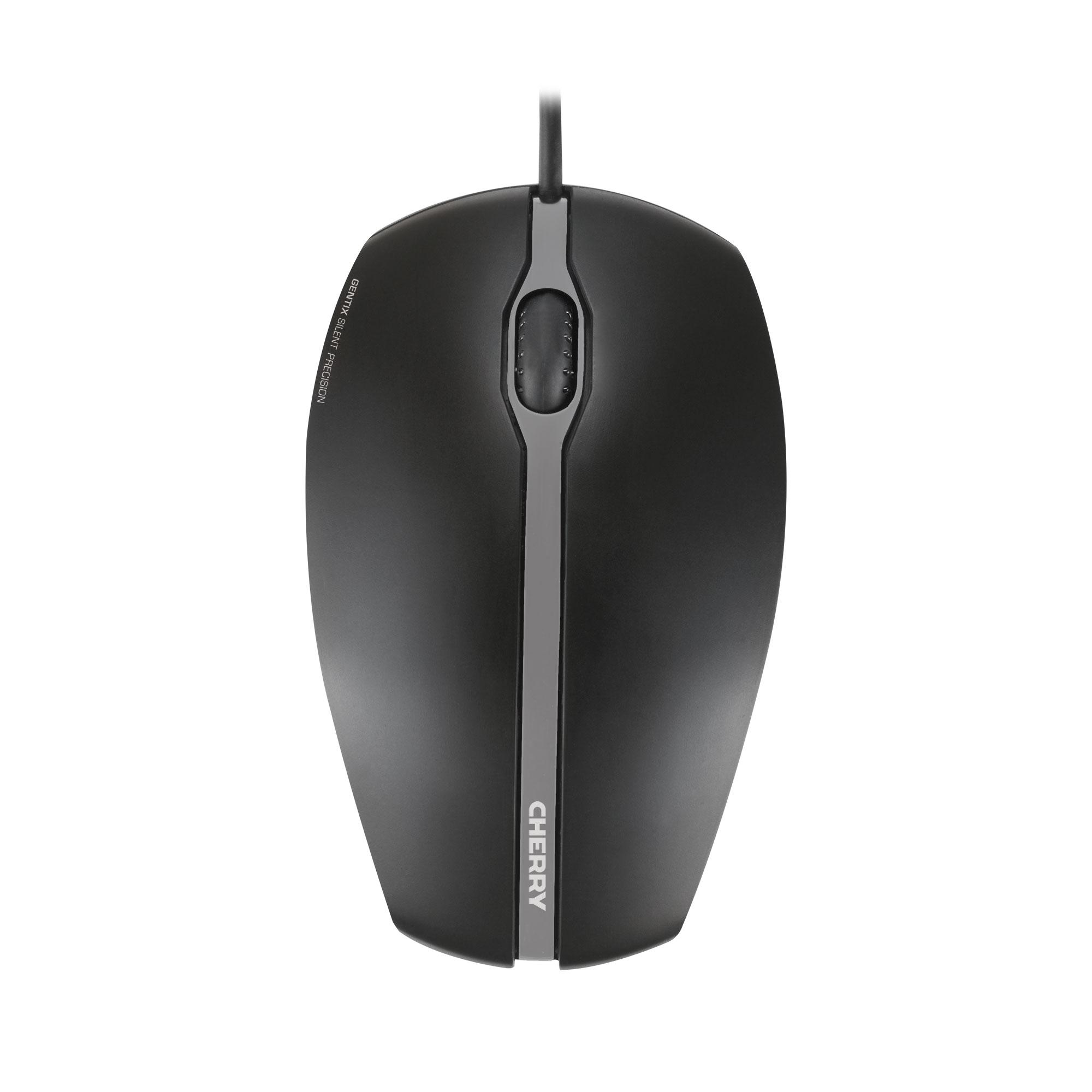 Жична тиха мишка CHERRY GENTIX Silent, Черен-2