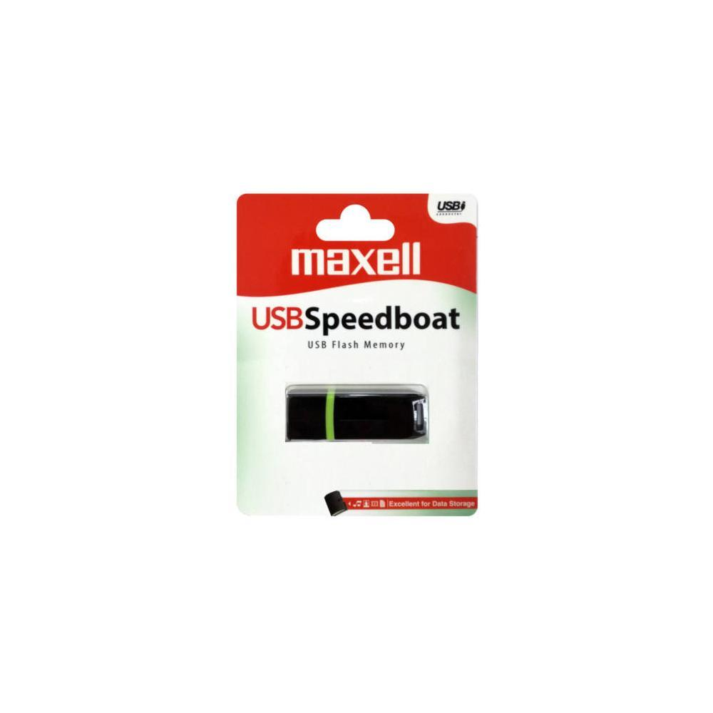 USB памет MAXELL SPEEDBOAT, USB 2.0, 4GB, ЧЕРЕН