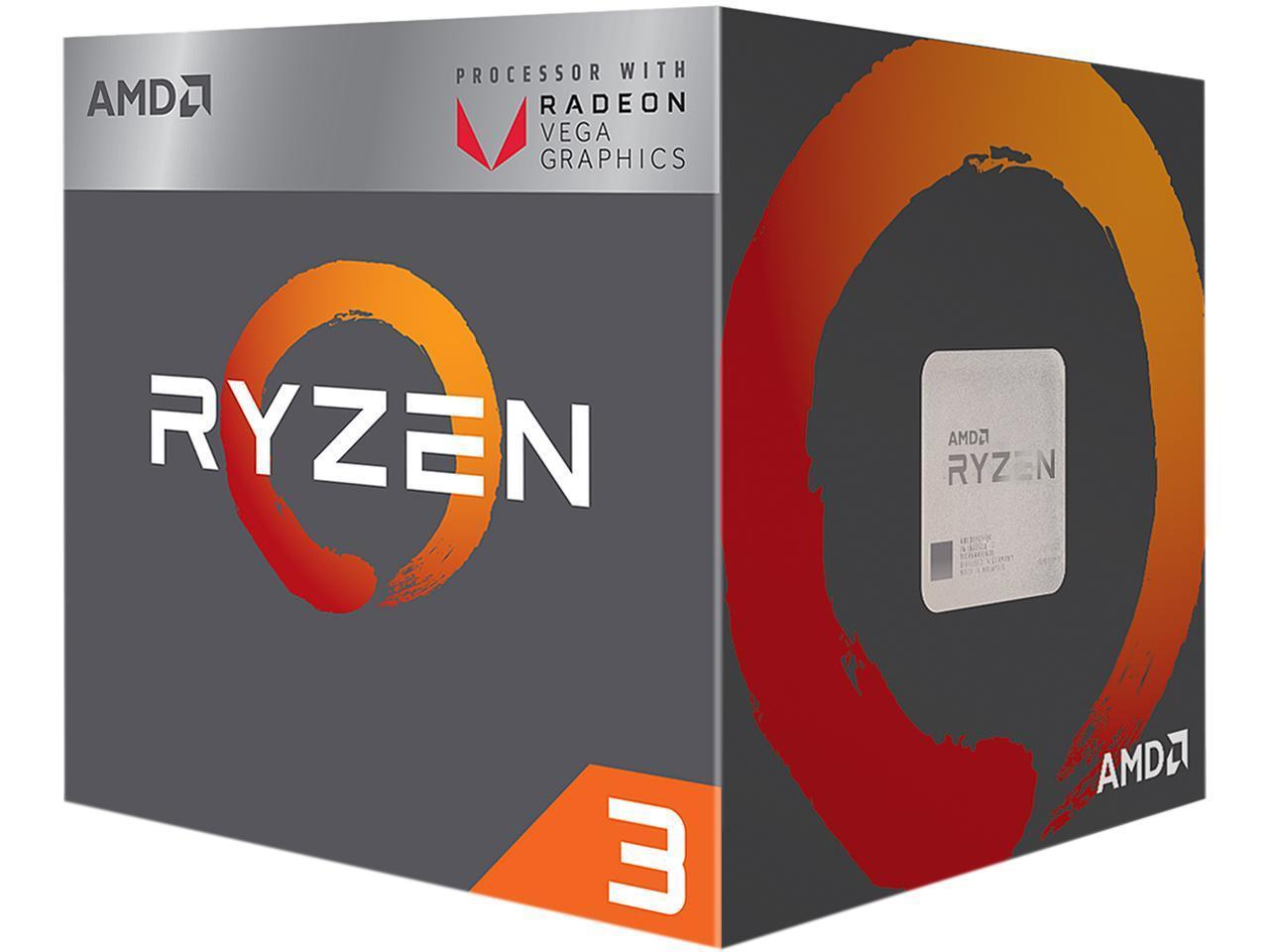 Процесор AMD RYZEN 3 2200G 4-Core 3.5 GHz (3.7 GHz Turbo) 6MB/65W/AM4/BOX