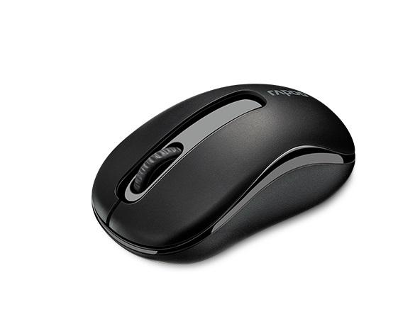 Безжична оптична мишка RAPOO M10 Plus, Черен, 2.4Ghz