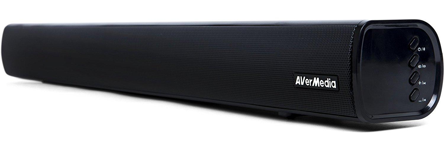 AverMedia Gaming Soundbar GS331 2.0 40W, Bluetooth-2
