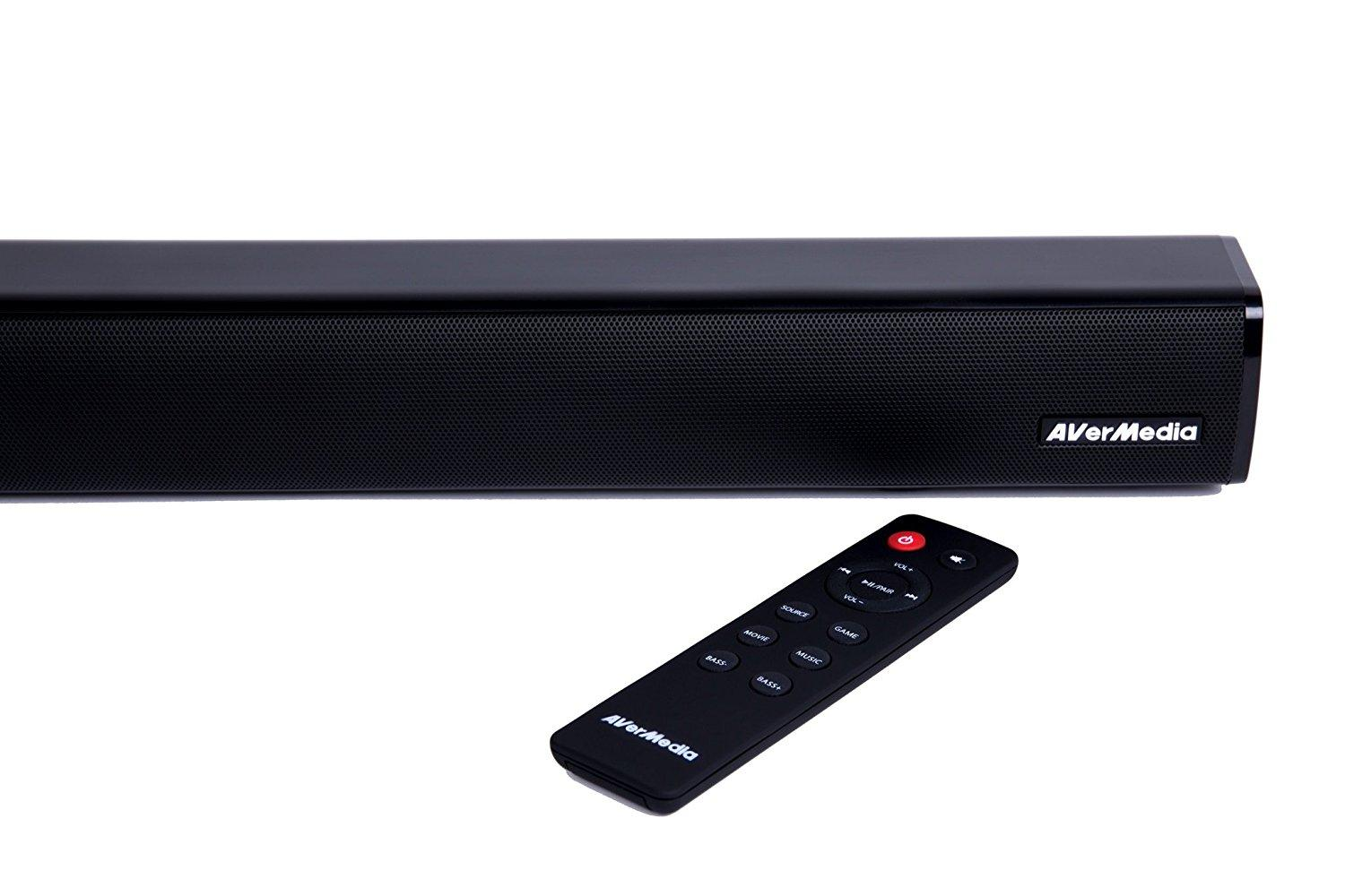 AverMedia Gaming Soundbar GS331 2.0 40W, Bluetooth-3