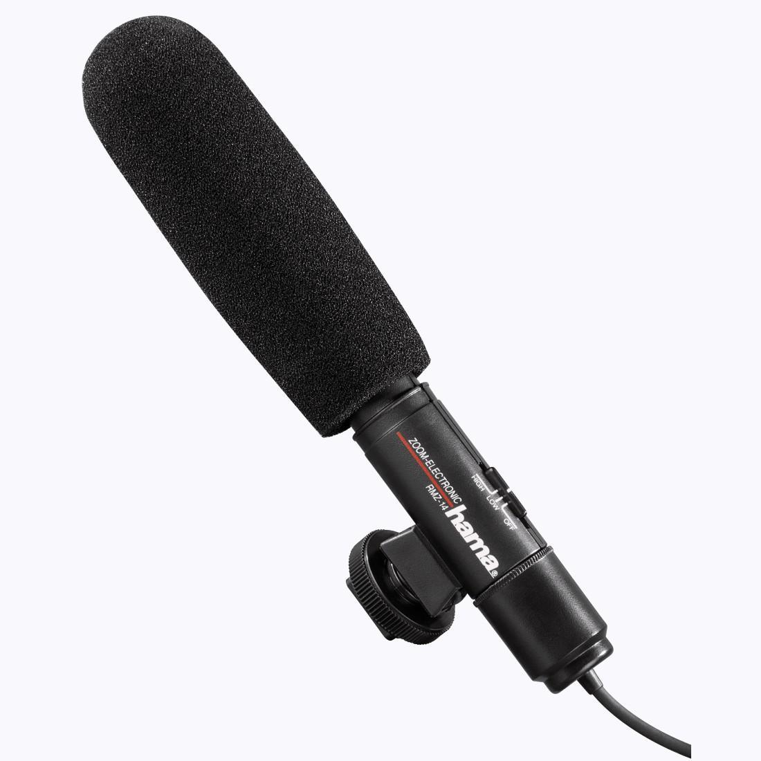 Микрофон HAMA RMZ-14, кардиоден,стерео, 3.5мм-2