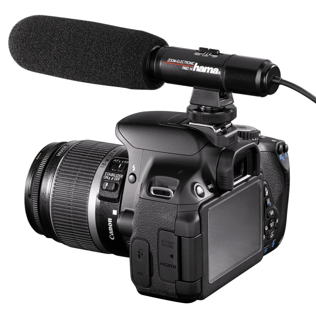 Микрофон HAMA RMZ-14, кардиоден,стерео, 3.5мм-4