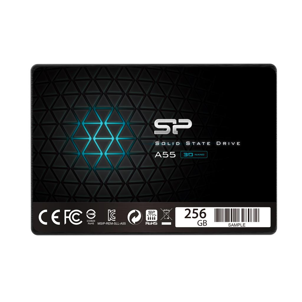 "Solid State Drive (SSD) SILICON POWER A55, 2.5"", 256 GB, SATA3"