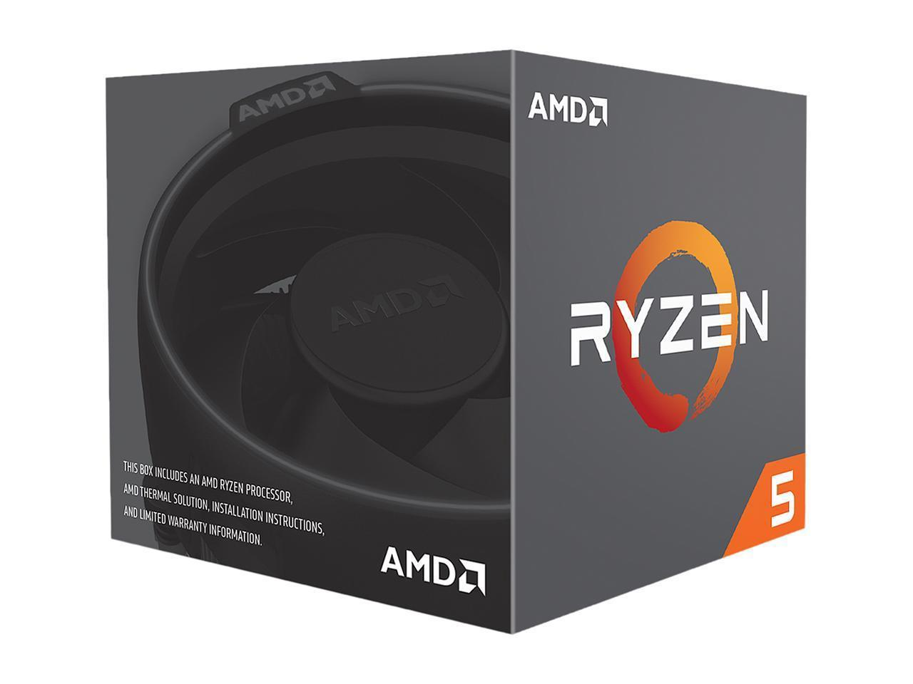 Процесор AMD RYZEN 5 2600 6-Core 3.4 GHz (3.9 GHz Turbo) 19MB/65W/AM4/BOX-2