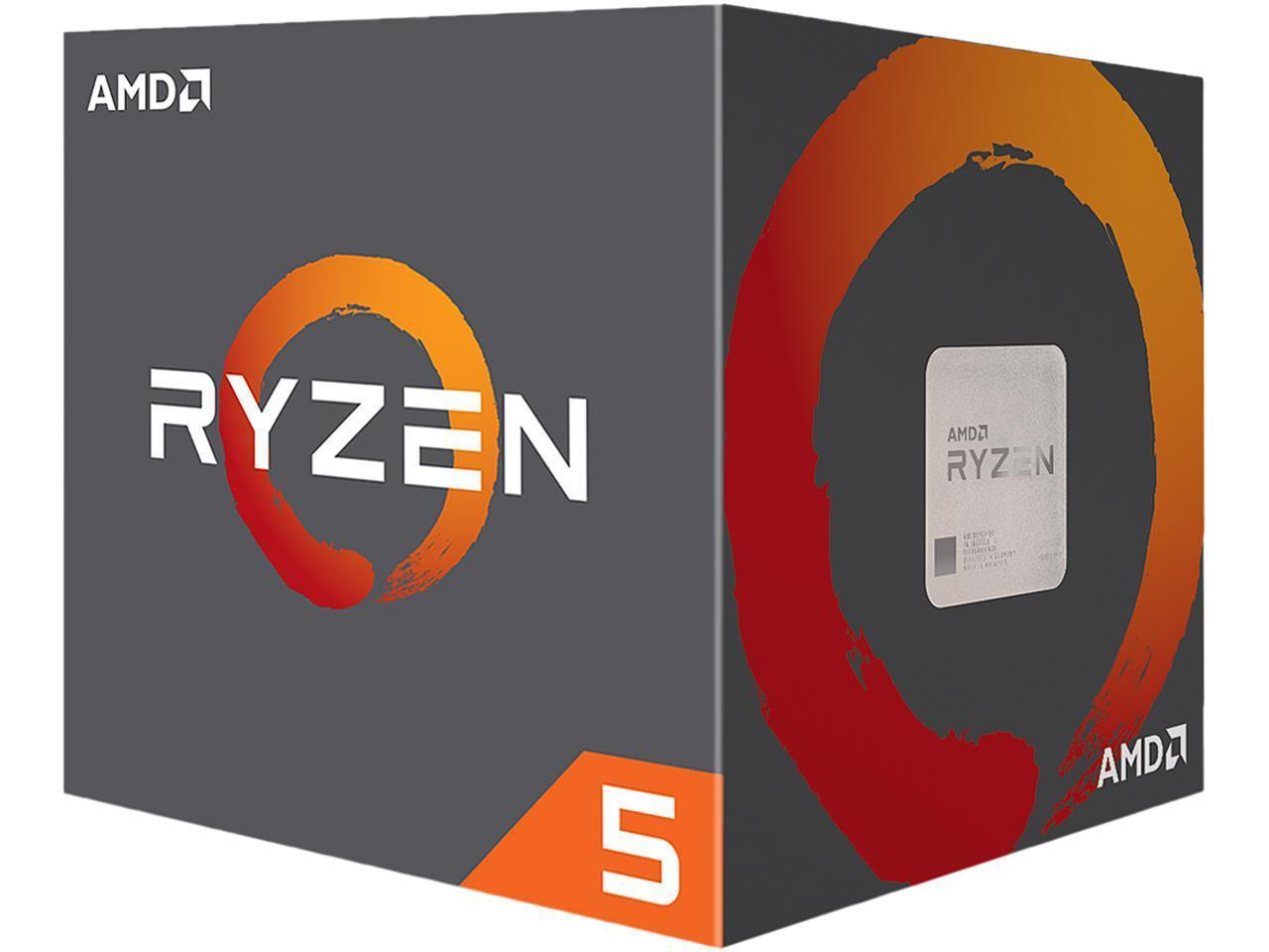 Процесор AMD RYZEN 5 2600X 6-Core 3.6 GHz (4.2 GHz Turbo) 19MB/95W/AM4/FAN