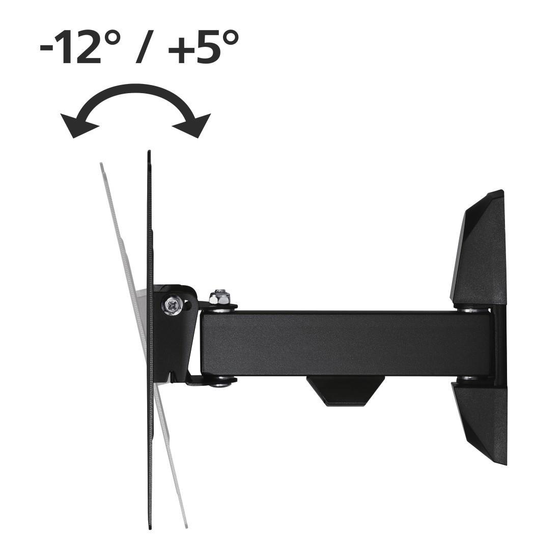 Стенна стойка за TV HAMA 118100, Регулируема, 48, 20 кг, 200 x 200, Черна-2