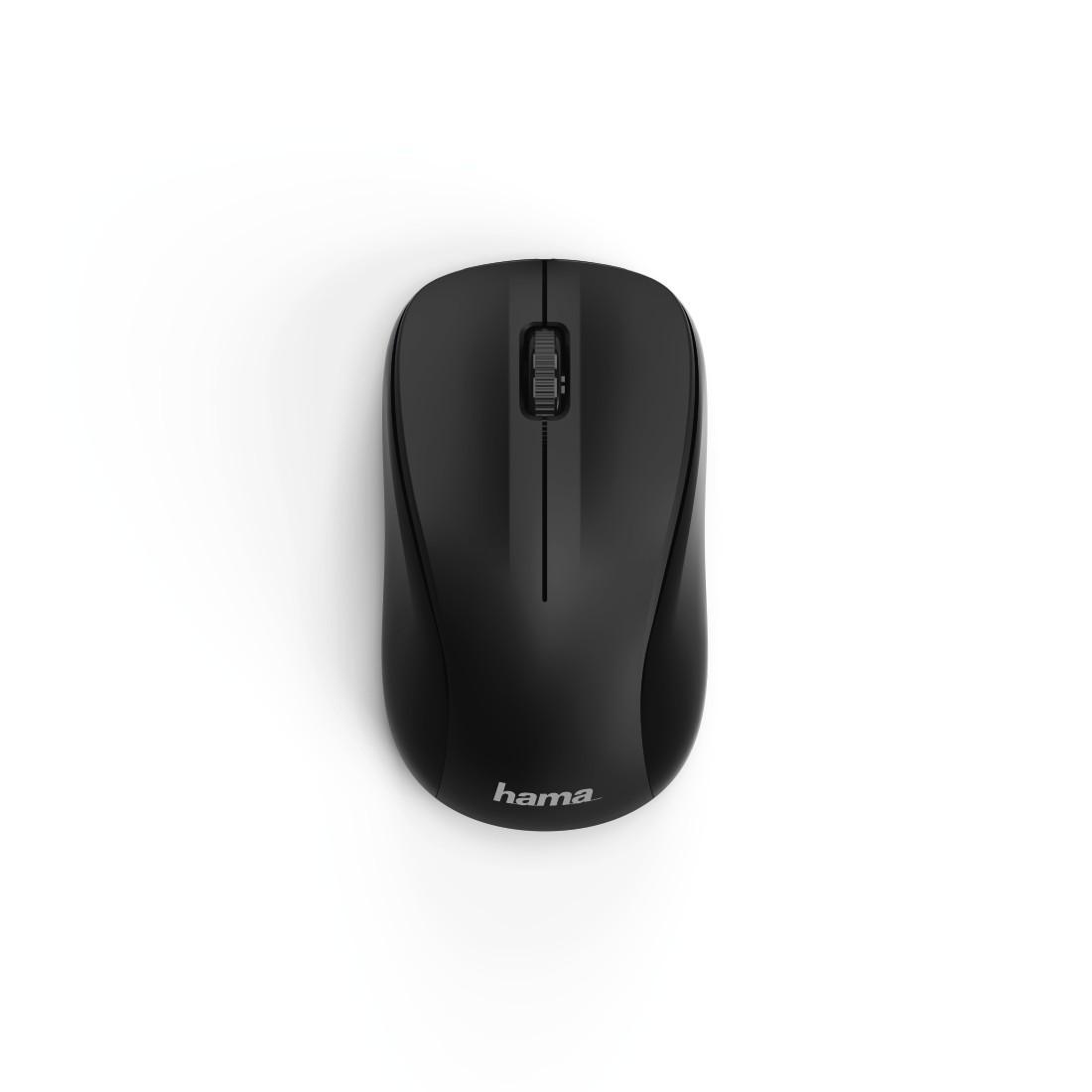 Безжична оптична мишка HAMA MW-300, USB, 3 бутона, 2.4 GHz, Черен-2