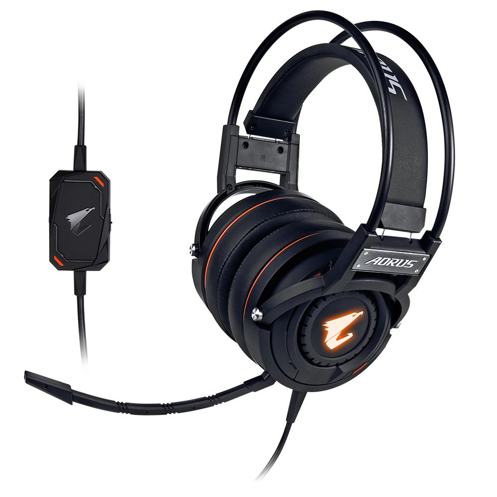 Геймърски слушалки Gigabyte Aorus H5 RGB Fusion
