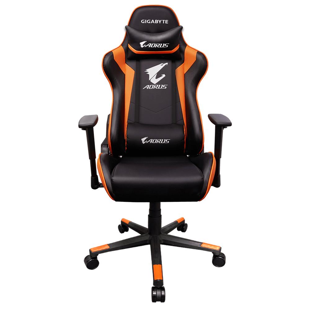 Геймърски стол Gigabyte Aorus AGC300, rev.2.0, Оранжев