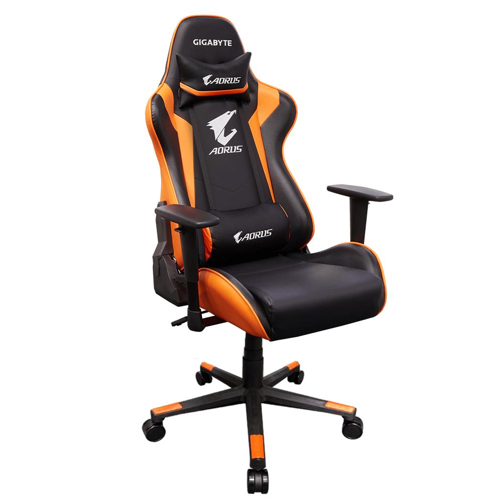 Геймърски стол Gigabyte Aorus AGC300, rev.2.0, Оранжев-2