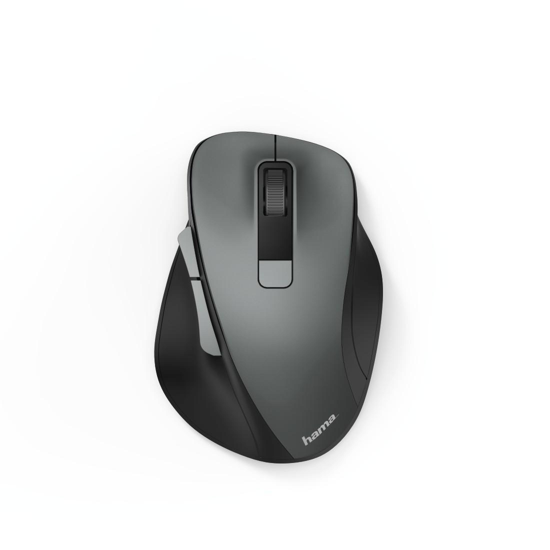 Безжична оптична мишка HAMA MW-500, USB, 1200/1600/800 dpi, безшумна, Сив-2