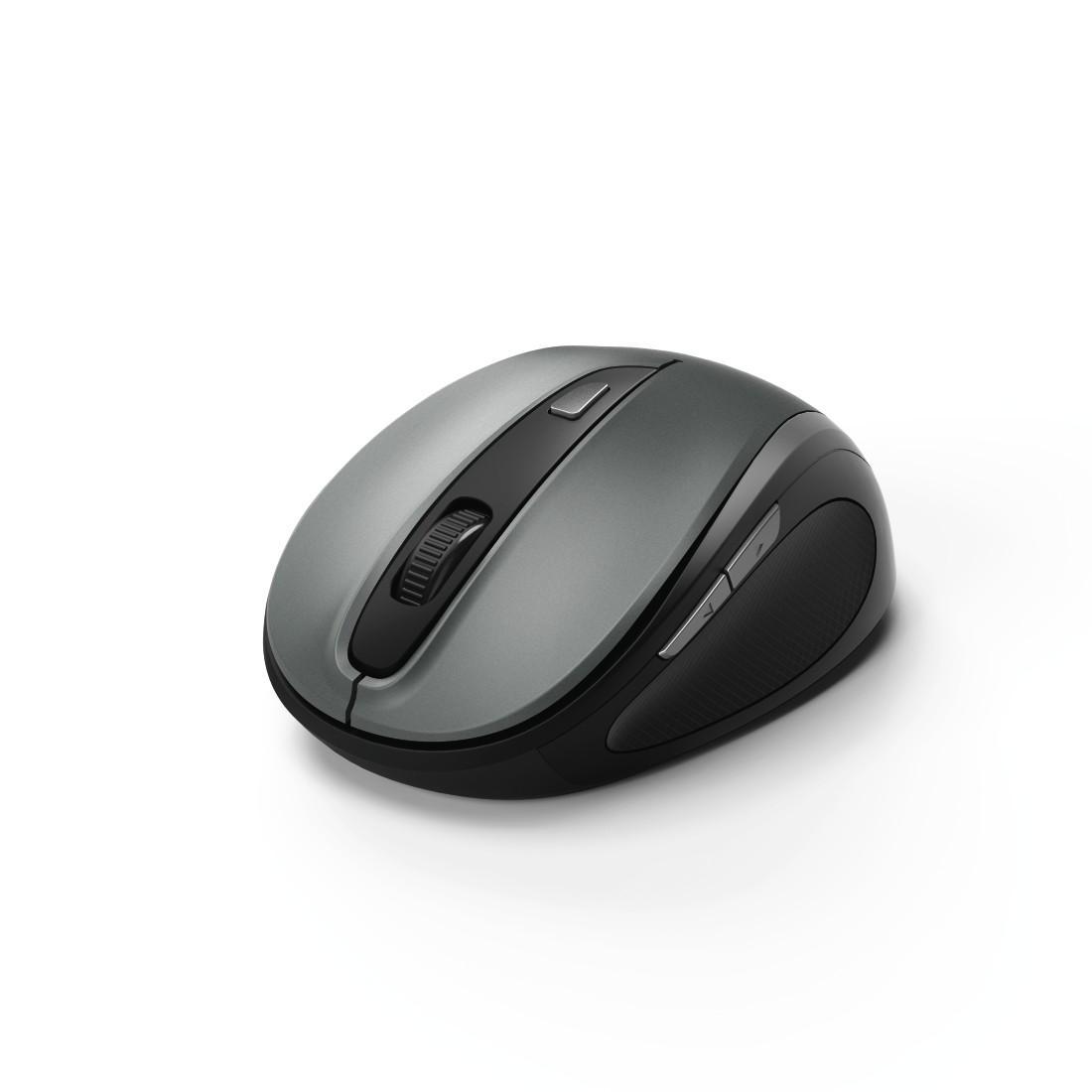 Безжична оптична мишка HAMA MW-400, USB, 1200/1600/800 dpi, Сив