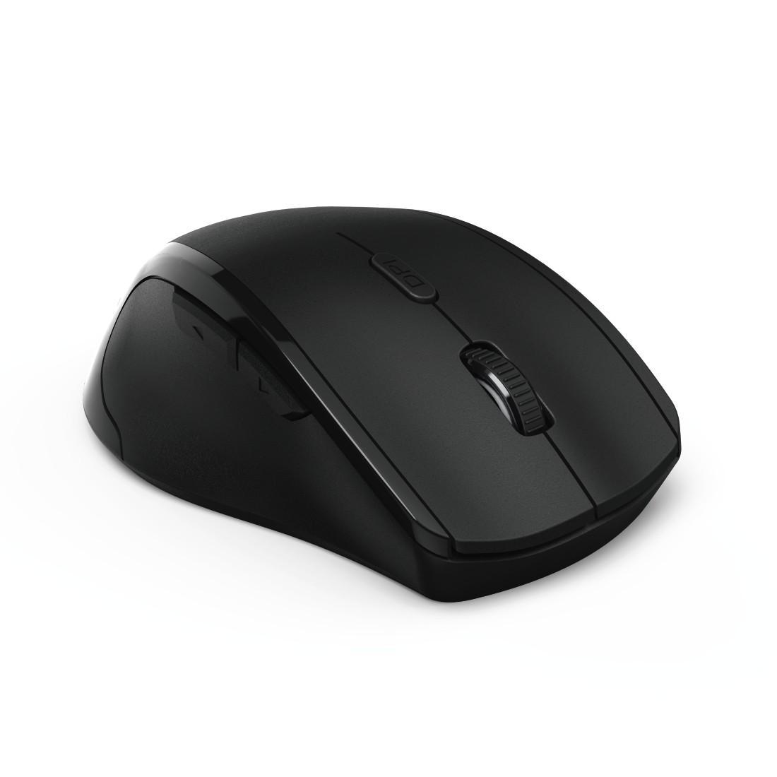 Безжична оптична мишка HAMA Riano 182645, Лява ръка, USB, Черен