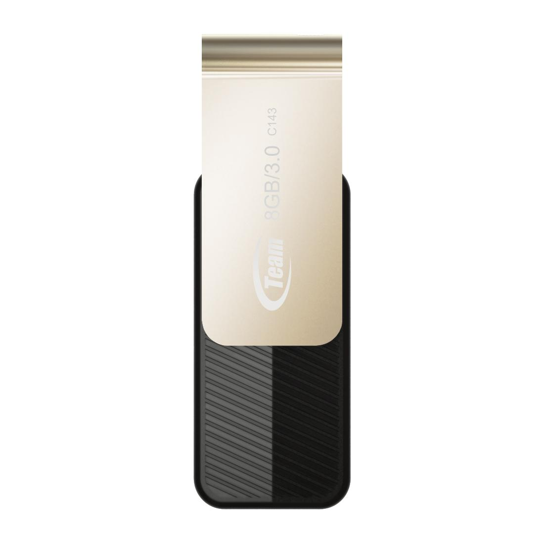 USB памет Team Group C143 8GB USB 3.0, Черен