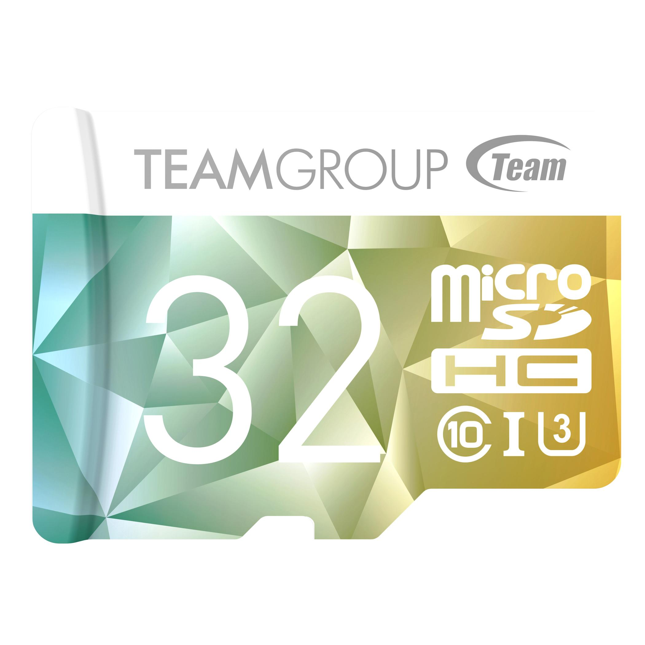 Карта памет Team Group Color Card II 32GB Micro SDHC/SDXC UHS-I U3 + SD Adapter-2