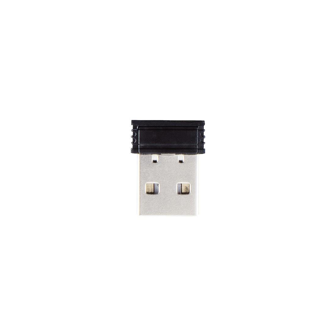 Безжична оптична мишка HAMA MW-110, USB, 1000 dpi, 3 бутона, Черен-3